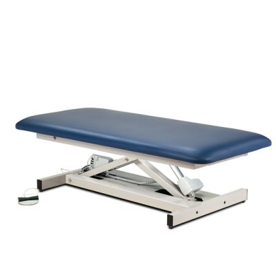 Open Base, Extra Wide, Bariatric, Straight Top Power Table