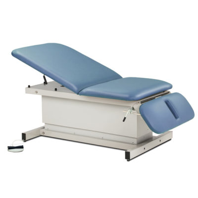 Shrouded, Extra Wide, Bariatric, Power Table w/Adj. Backrest and Drop Section
