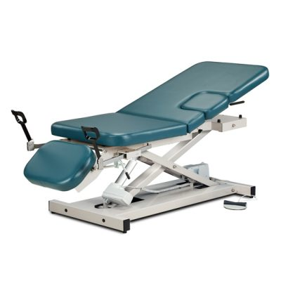 Open Base, Multi-Use Power Imaging Table with Stirrups
