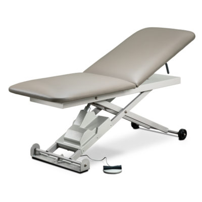 E-Series, Power Table with Adjustable Backrest