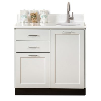 """Fashion Finish 36"""" Base Cabinet with 2 Doors and 2 Drawers"""