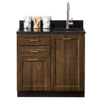 "Fashion Finish 36"" Base Cabinet with 2 Doors and 2 Drawers"