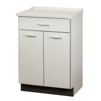 Molded Top Treatment Cabinet with 2 Doors and 1 Drawer