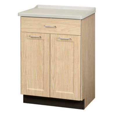 Fashion Finish, Molded Top Treatment Cabinet with 2 Doors and 1 Drawer
