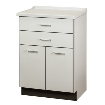Molded Top Treatment Cabinet with 2 Doors and 2 Drawers