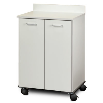 Mobile Treatment Cabinet with 2 Doors