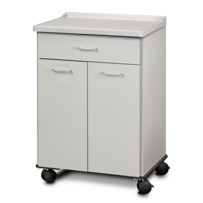 Mobile Treatment Cabinet with 2 Doors and 1 Drawer