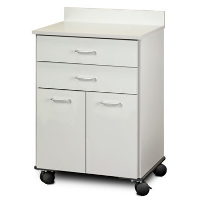 Mobile Treatment Cabinet with 2 Doors and 2 Drawers