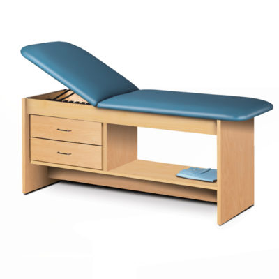 Treatment Table with Drawers and Shelf