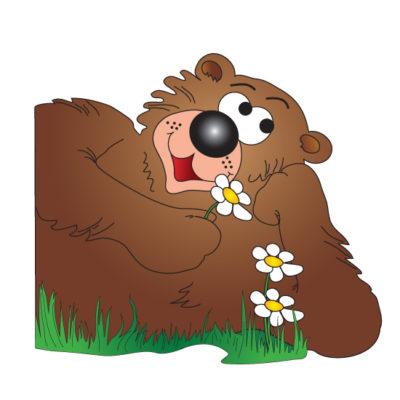 Friendly Bear Graphic
