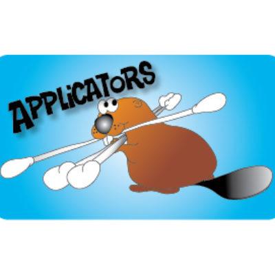 Applicators Label