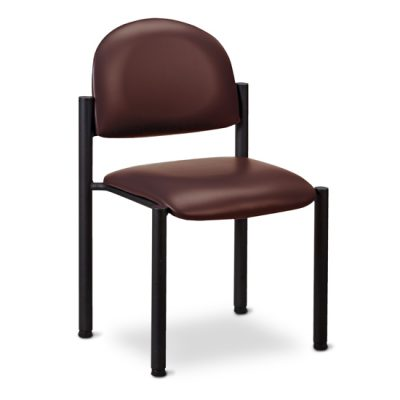 Black Frame Chair/No Arms