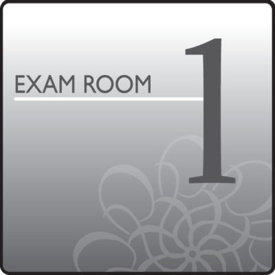 Standard Exam Room Sign 1