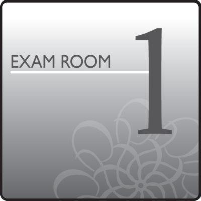 Standard Exam Room Sign 1