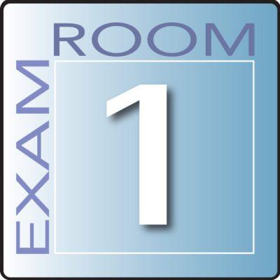 Skytone Exam Room Sign 1