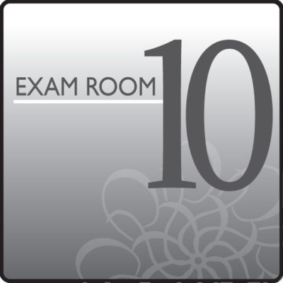Standard Exam Room Sign 10