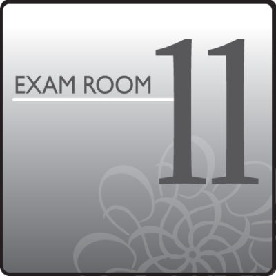 Standard Exam Room Sign 11