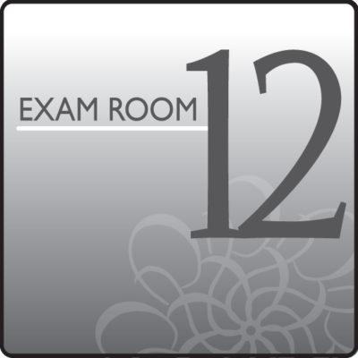 Standard Exam Room Sign 12