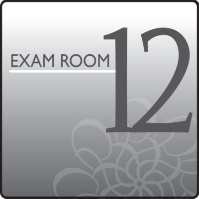 Standard Exam Room Sign 12
