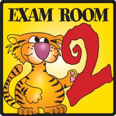 Exam Room 2 Sign