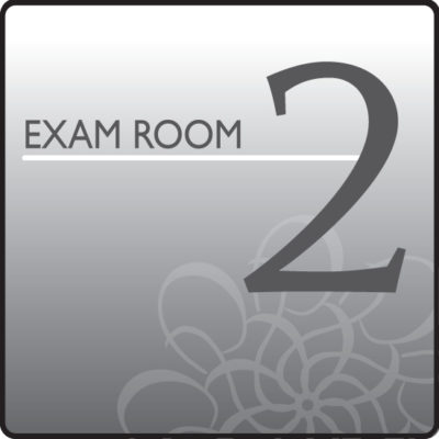 Standard Exam Room Sign 2
