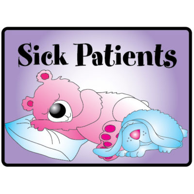 Sick Patients Sign