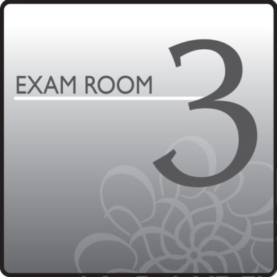 Standard Exam Room Sign 3