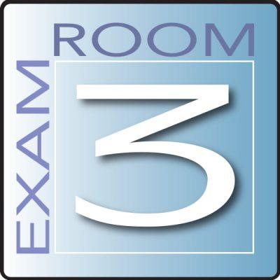 Skytone Exam Room Sign 3