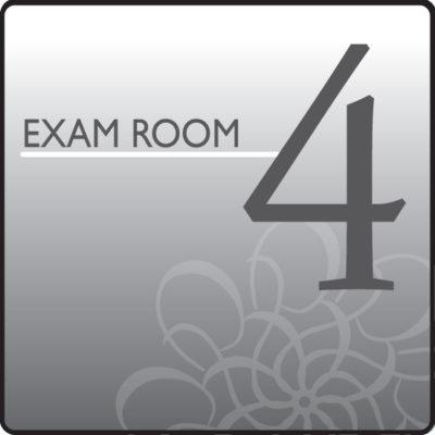 Standard Exam Room Sign 4