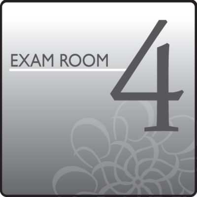 Standard Exam Room Sign 4