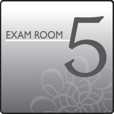 Standard Exam Room Sign 5