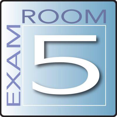 Skytone Exam Room Sign 5