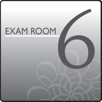 Standard Exam Room Sign 6
