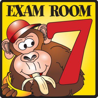 Exam Room 7 Sign