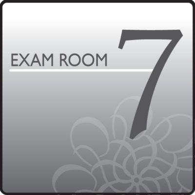 Standard Exam Room Sign 7