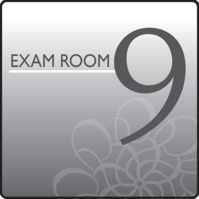 Standard Exam Room Sign 9