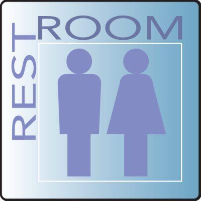 Skytone RestRoom Sign