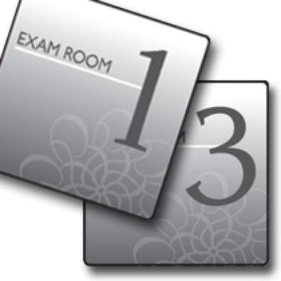 Standard Exam Room Signs