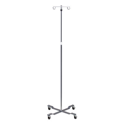 Economy 4-Leg, 2-Hook IV Pole