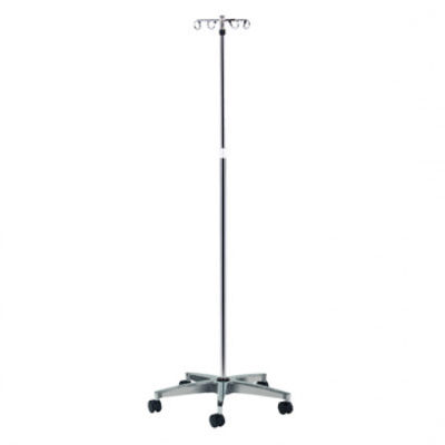 Economy 5-Leg, 4-Hook IV Pole