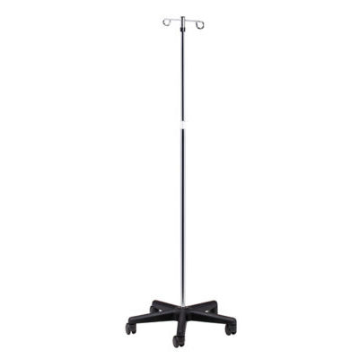 Economy 5-Leg, 2-Hook IV Pole