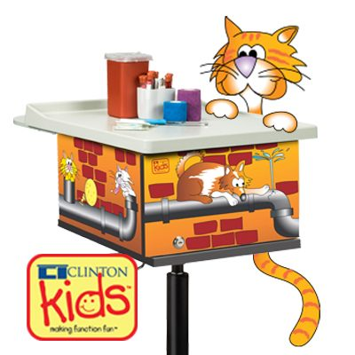 Clinton Kids,™Pediatric, Phlebotomy Carts