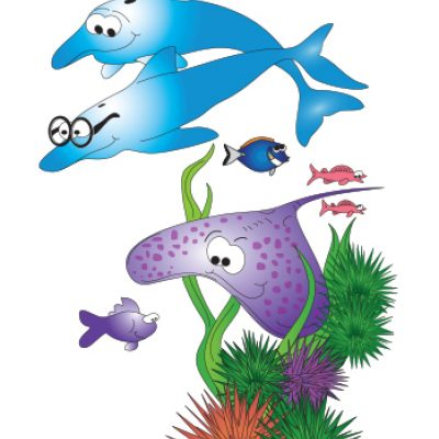 Sea Life Wall Sticker