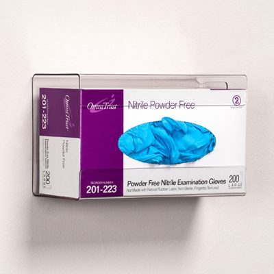 Single, Clear PETG, Glove Box Holder