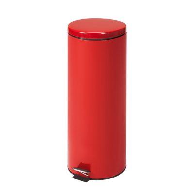 Medium Round Red Waste Receptacle