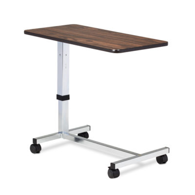 Low Height, H-Base, Over-Bed Table