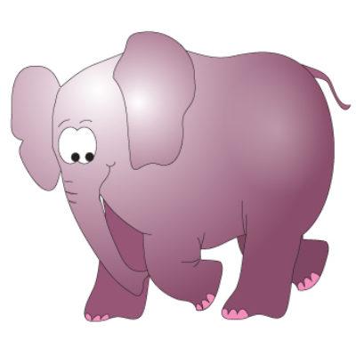 Serengeti Elephant Wall Sticker