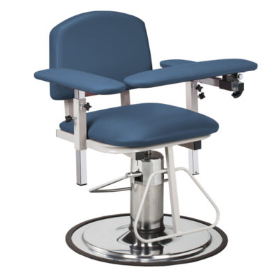 H Series, Padded, Blood Drawing Chair  with Padded Arms