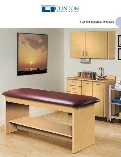 Flat Top Tables Brochure