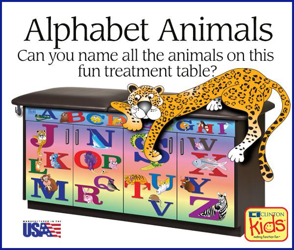 Alphabet Animals Ad J